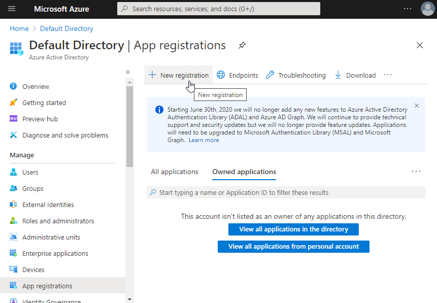 NewAppRegistration_AzurePortal