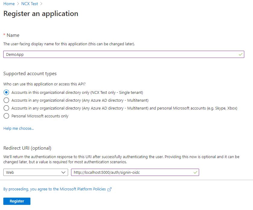 RegisterAnApplication_AzurePortal